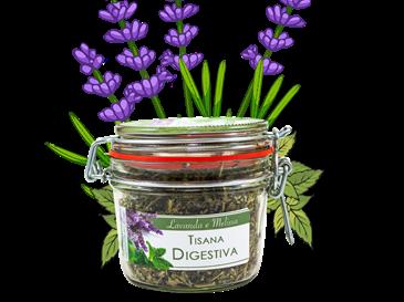 Tisana Digestiva in vaso ermetico
