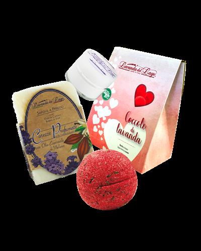 Coccole di Lavanda - Box Rosso