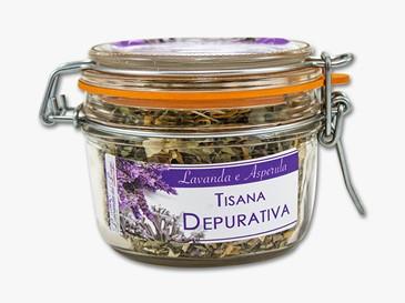 Tisana Depurativa in vaso ermetico