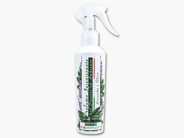 Lavender and Olive sanitizer for fabrics